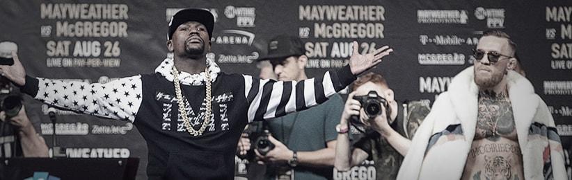 Bet on Mayweather Jr. vs. McGregor Props Online at Bodog